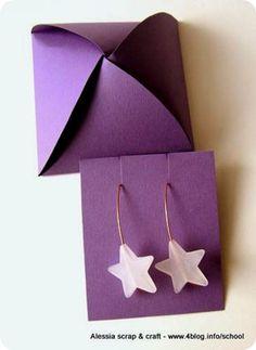 Scatolina fai da te per bijoux e piccoli oggetti - diy little box for a little present