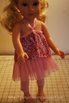 Joy's Jots, Shots & Whatnots: How Many Doll Clothes Does a Skirt Make?