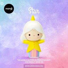 Star Momiji doll by Luli Bunny First 500 pieces are hand-numbered Spread the love #momijidolls