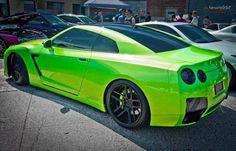 Lime Green GTR!