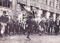 punk rocker street dancing