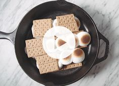 How to Make S'mores Indoors via @PureWow