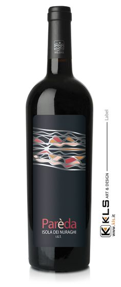Label - Pareda Isola dei Nuraghi IGT