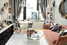Uncluttered Small Living Room Ideas | 18 Urban Small Studio Apartment Design Ideas