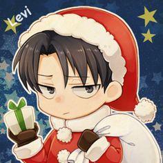 Chibi!Santa!Levi