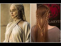 Game of Thrones Inspired Hair - Season 5: Daenerys Targaryen - YouTube