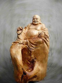 林文全-木雕工作室 布袋彌勒