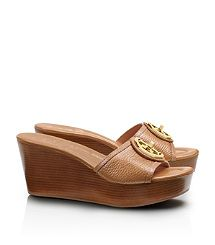 Selma Mid Wedge Slide. Like this tan color.