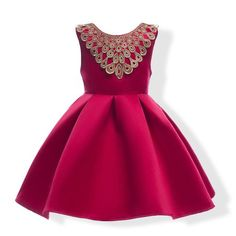 The Genevieve Party Dress (Red or Navy)