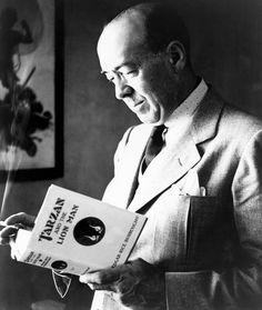 Author of John Carter of Mars - Edgar Rice Burroughs
