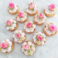 ~ Afternoon Tea Time ~ adorable tarts for a tea party! ~ Afternoon Tea Time ~ adorable tarts for a tea party! Tea Cakes, Cupcake Cakes, Tea Party Cupcakes, Tea Party Desserts, Food For Tea Party, Tea Party Foods, Tee Sandwiches, Patisserie Fine, Afternoon Tea Parties