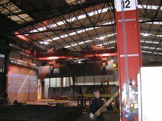 Vorbereitung  Kunstwerk ARA, Wil-SG Metallplatte im Werk