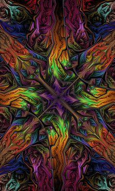 Lovely psychedelic fractal art