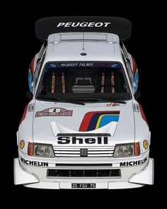 B Amazing art by 3008 Peugeot, Peugeot 205, Rally Car, Cars And Motorcycles, Race Cars, Classic Cars, Racing, Bike, Amazing Art