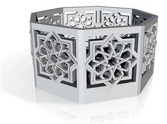 Star Knot lantern. Etsy listing at https://www.etsy.com/listing/189377168/islamic-star-lantern-original-tee-light
