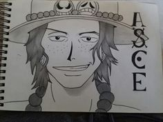 ace drawing #ace #onepiece