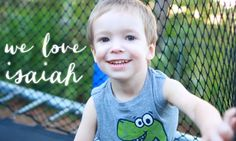 Last year, Isaiah was diagnosed with a life-threatening brain tumor wrapped around the stem of his brain. Take a look at what it's like to go through treatment for a brain tumor and see why we love Isaiah. #WeLoveIsaiah #story