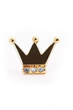 Earrings with a black crown - for women with character. For those who want to feel like a princess. They are a little bit funny, but they will fit to many different stylings. Maybe you can give them to someone else as a gift?