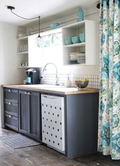5 Bloggers + 1 Palette: See What They did With These HGTV Home Colors: Sweet Kitchen Makeover - The Shabby Creek Cottage