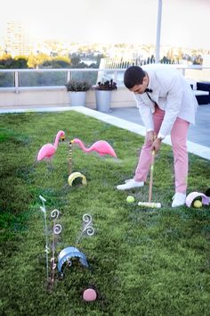 Outdoor Game DIY: A Wonderfully Whimsical Croquet Set