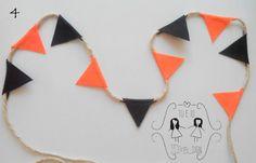 Banderola de Halloween Bandierina di Halloween
