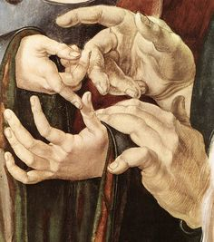 Albrecht Dürer, Christ Among the Doctors (detail), 1506.