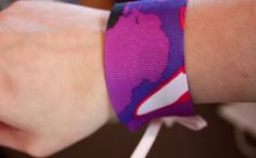 vixenMade: Ribbon Bracelet Tutorial