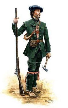 Flintlock and tomahawk: rangers Don Troiani