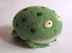 Hey, I found this really awesome Etsy listing at https://www.etsy.com/listing/165481244/stuffed-frog-frog-soft-toy-upcycled