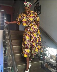 All in all, Ankara short gown is the best choice for female.The reason is that gowns are suitable for any occasion. that make you look chic and attractive. Ankara Short Gown, Ankara Skirt And Blouse, Short Gowns, African Print Fashion, Africa Fashion, African Fashion Dresses, Ankara Fashion, Nigerian Fashion, African Prints