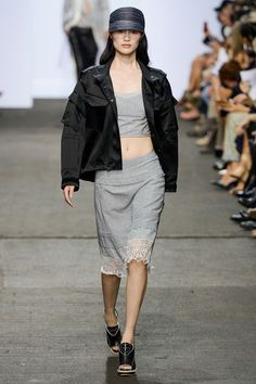 See all the Collection photos from Rag & Bone Spring/Summer 2013 Ready-To-Wear now on British Vogue Chinese Model, Sleek Look, Luxury Fashion, Womens Fashion, Fashion Show, Fashion Design, Nyc Fashion, Rain Wear, Rag And Bone