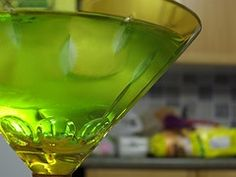 Green Apple Martini..