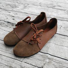 2017original retro art handmade leather shoes pure comfortable flat shoes genuine leather shoes women fashion casual shoes