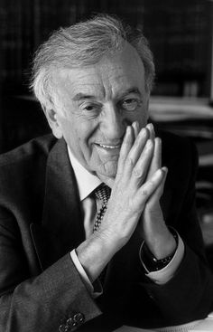 "Eliezer ""Elie"" Wiesel (born September 30, 1928) is a Jewish-American professor and political activist. He is the author of 57 books, including Night, based on his experiences as a prisoner in the Auschwitz, and Buchenwald concentration camps. When awarded the Nobel Peace Prize in 1986, the Nobel Committee called him a ""messenger to mankind."""