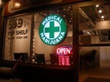A new study indicates that smoking marijuana is conducive to both weight loss and helping prevent diabetes. But for those who, for whatever reason, dont' or won't smoke pot, there are food alternatives for controlling blood sugar levels. Read on...   (Photo: Discount Medical Marijuana shop in Denver, Colorado)