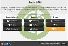 Panoramica di Ubuntu MATE la distro GNU/Linux basata su Ubuntu con l'ambiente desktop MATE. Gnu Linux, Operating System, Software, Desktop, Projects, Environment, Log Projects, Blue Prints
