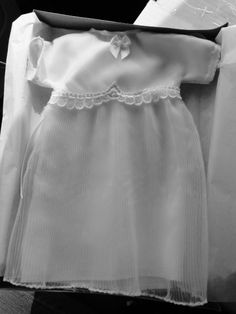 Angel Gown created and shipped overnight to Madilynn Grace in Floyd, VA.