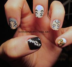 Avatar: The Last Airbender | Nevorpurify's Nail Art