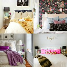 Cute Decor: quarto aconchegante