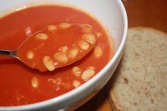 Veganeren: Tomatbønnesuppe