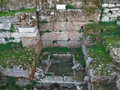Water Clock (constructed at the end of the 4th cent. B.C.), Ancient Agora of Athens