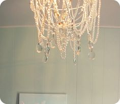 My House of Giggles: DIY Chandelier