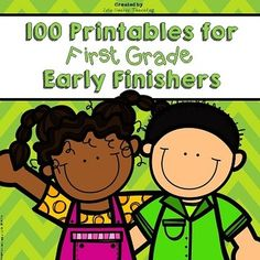 Early Finishers: Early Finisher MEGA PACK (100 Printables for First Grade Enrichment!)Need something to challenge your gifted and talented students who finish early? Are they always crying out for enrichment? If so, then this packet of 100 printable activities is perfect for your classroom!
