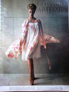 1964 Vintage Bra, Vintage Lingerie, Gossard, Vintage Nightgown, Bullet Bra, Pretty Lingerie, Artemis, Vintage Fashion, Vintage Style