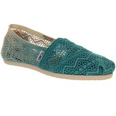 Toms Seasonal Classic Slip On ($66) found on Polyvore -- If only I was rich enough to get real Toms!!! :(
