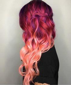 Pink ombrè // Patrizia Conde