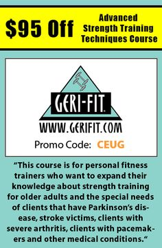 Get 15 off courses from allegra learning solutions when using register for the advanced strength training techniques course and receive 95 off when using promo fandeluxe Choice Image