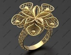 Ultra vision Ring STL model for printing 0015 model printable STL Men's Jewelry Rings, Hand Jewelry, Jewelry Sets, Antique Gold Rings, Types Of Gold, White Gold Jewelry, Jewelry Model, Gold Jewellery Design, Artisan Jewelry
