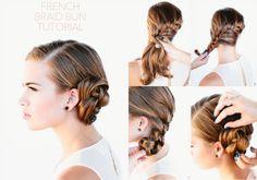 Ako si zapliesť francúzsky vrkoč? - KAMzaKRÁSOU.sk #kamzakrasou #krasa #tutorial #beauty #diy #health #hair #hairstyle #uces