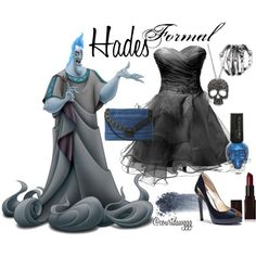 """""""Formal Hades Outfit"""" by courtdawggg on Polyvore"""